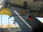 Tail of Panavia Tornado IDS 44+97 at Flugwerft Schleißheim October 2015.jpg