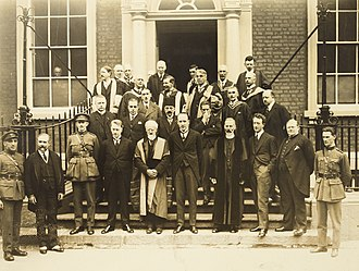 Tailteann Games (Irish Free State) - Irish and foreign dignitaries at the RIA