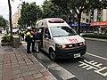 Taipei City Fire Department ambulance Xinyi-93 on scene.jpg