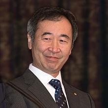Takaaki Kajita, Nobelprismodtager i fysik, i Stockholm i december 2015.