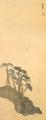 TakehisaYumeji-1919-Pines and a Crane.png