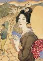 TakehisaYumeji-1920-12 Scenes at Nagasaki Meganebashi.png