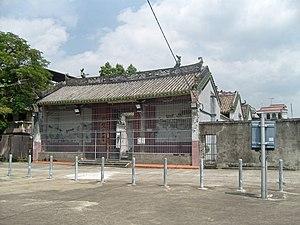 Kam Tin - Tang Ching Lok ancestral hall in Pak Wai Tsuen, Kam Tin