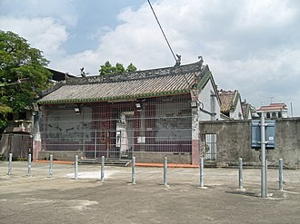 Kam Tin - Tang Ching Lok ancestral hall in Pak Wai Tsuen, Kam Tin