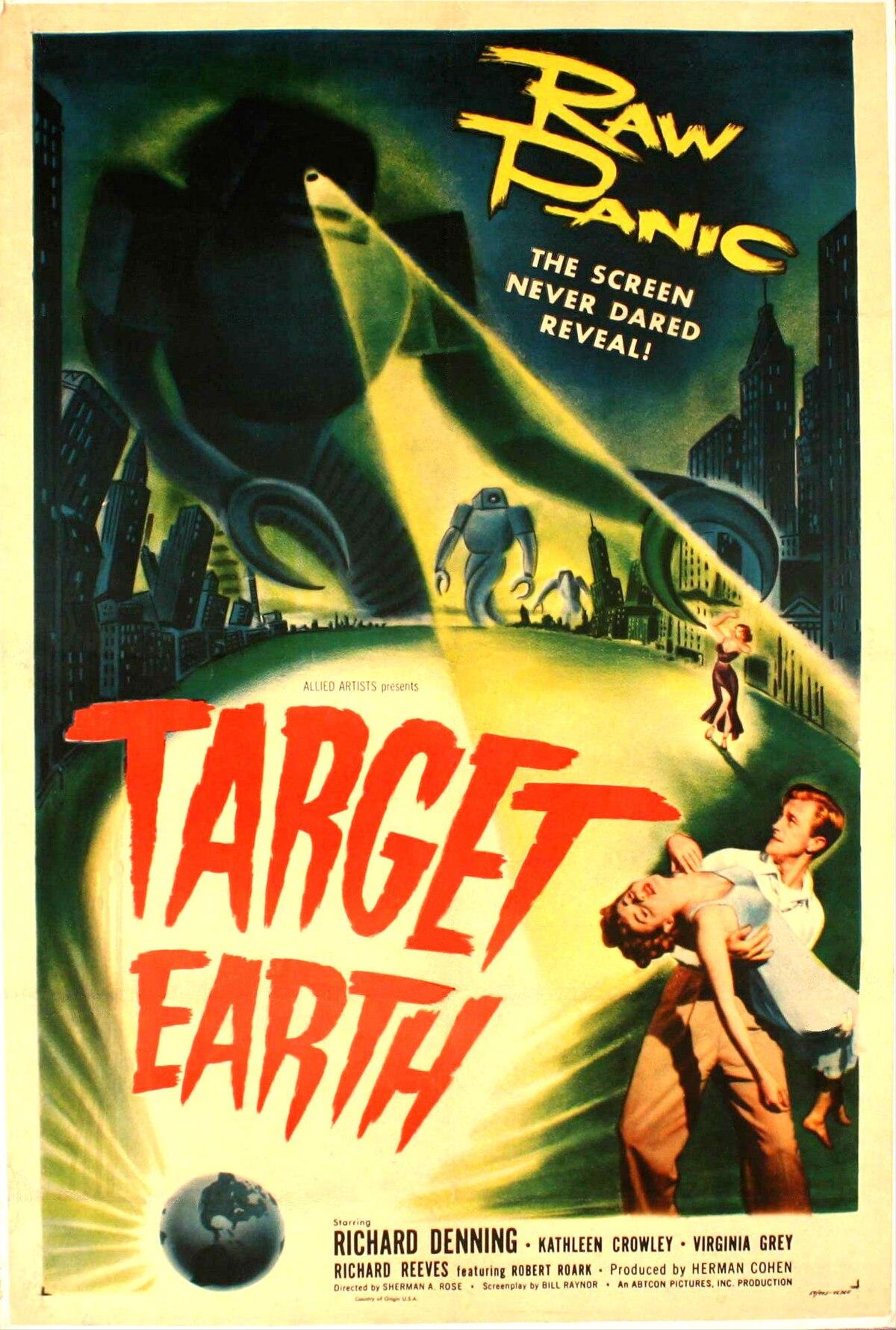 target earth film wikipedia