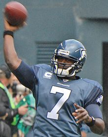 Description de l'image Tarvaris Jackson in 2011 cropped.jpg.