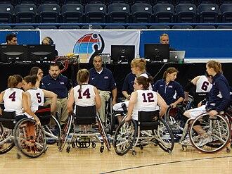 2014 Women's World Wheelchair Basketball Championship - Team USA
