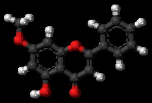 Techtochrysin - Image: Techtochrysin molecule ball