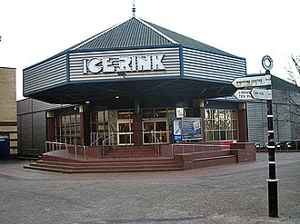Telford Ice Rink - Ice rink entrance