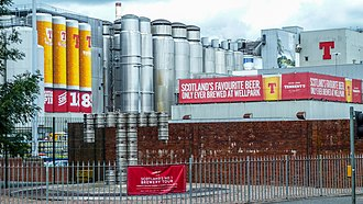 Wellpark Brewery - Tennents Brewery