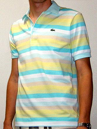 Polo shirt - A Lacoste tennis shirt