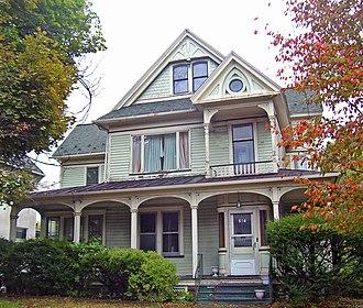 Terence V. Powderly - Powderly's Scranton home in 2007