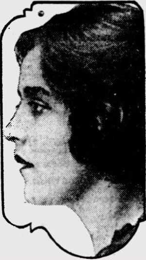 Peace dollar - Teresa de Francisci, posing here for a newspaper photograph in 1922, served as the model for the Peace dollar.