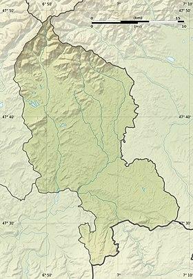 Voir sur la carte topographique du Territoire de Belfort