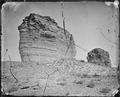 Tertiary Bluffs or Buttes. Near Green River City, Wyoming - NARA - 519444.tif