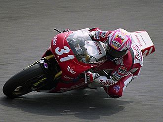 Tetsuya Harada - Tetsuya Harada on the Yamaha TZ250 (1993)