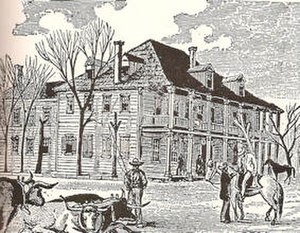 Holland Lodge - The Old Capitol Building on the original site of the Rice Hotel
