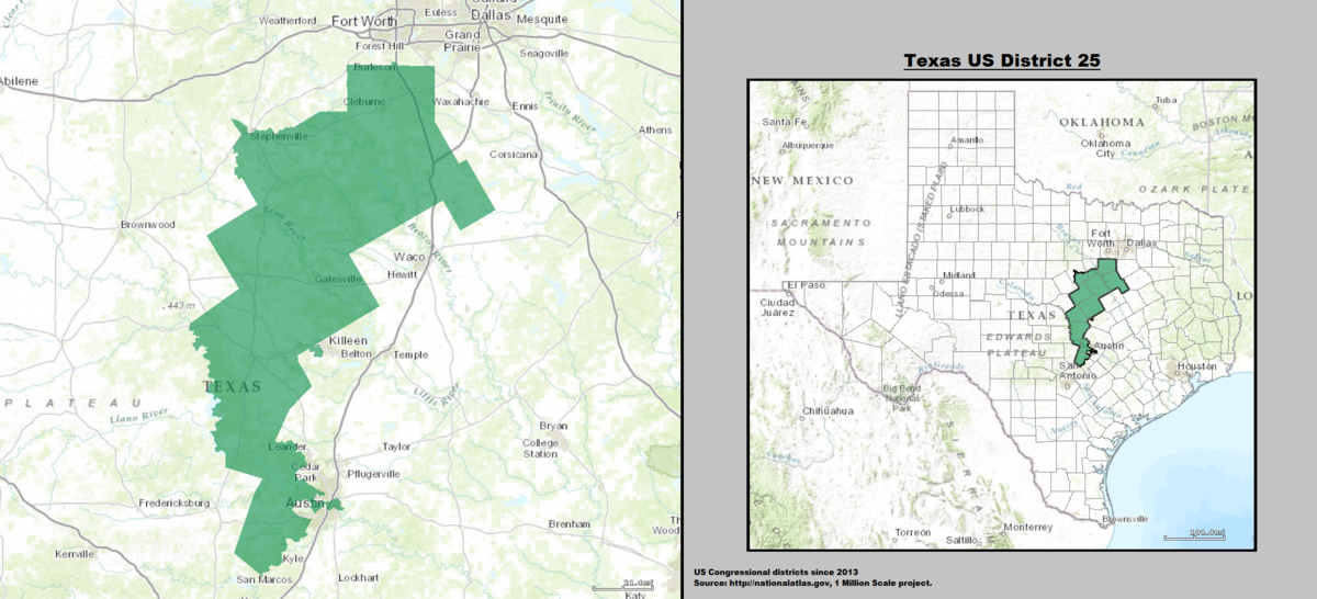 Texass Th Congressional District Wikipedia - Texas us house district map