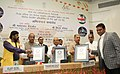 """Thaawar Chand Gehlot at the felicitation ceremony of the """"Rio Paralympic medalists, members of T-20 Asia Cup Indian Blind Cricket Team and Indian Blind Para & Para Judo, in New Delhi.jpg"""