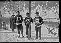 Thams, Bonna, Lanvik en 1924 à Chamonix.jpg