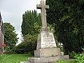The 1914-1918 War Memorial outside Capel Brynrefail - geograph.org.uk - 946554.jpg