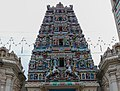 The 23m high gopuram of Sri Mahamariamman temple (18973096132).jpg
