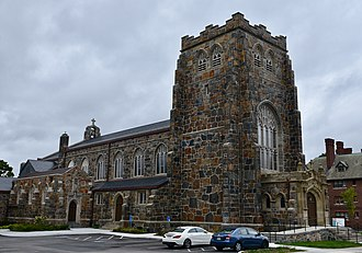 National Register of Historic Places listings in southern Boston - Image: The All Saints' Church