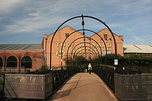 Thos W Ward - An entrance to Albion Works, Sheffield