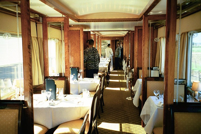 American Railcar Restaurant Uk
