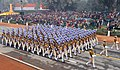 The CRPF marching contingents passes through the Rajpath, on the occasion of the 67th Republic Day Parade 2016, in New Delhi on January 26, 2016.jpg