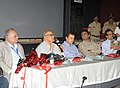 The Chief Minister of Goa, Shri Digambar Kamat addressing after releasing the IFFI-2011 Diary, in Panaji, Goa on November 22, 2011.jpg