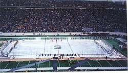 """The Cold War"" had the highest attendance of any hockey game in history"