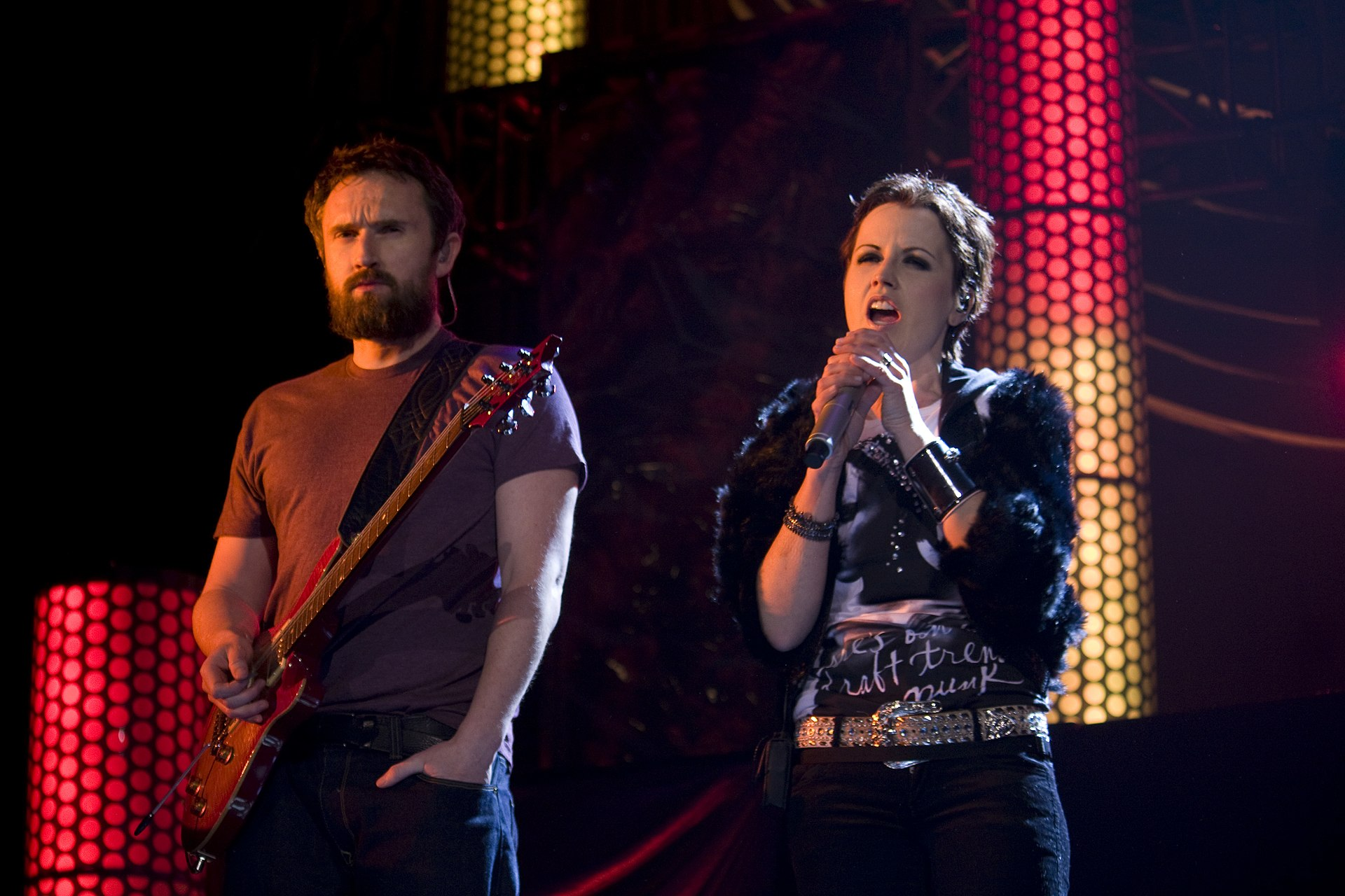 Cranberries Band Dolores O Riordan Natural Hair Color