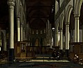 The Interior of the Oude Kerk, Amsterdam A10031.jpg