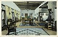 The Lobby, Hotel el Ortiz, Lamy, New Mexico. Fred Harvey series. Lamy is a tiny village in the... (NBY 21574).jpg