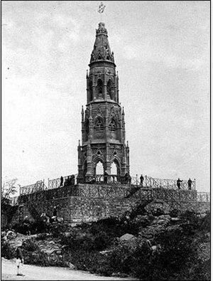 Mutiny Memorial - The Mutiny Memorial in 1870