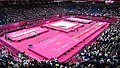 The North Greenwich Arena after the Olympic women's individual all-around artistic gymnastics (7738535450).jpg