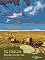 The Oregon National Historic Trail in Wyoming - Poster (15962371816).jpg