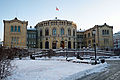 The Parliament of Norway (Stortinget), Oslo, Norway.jpg