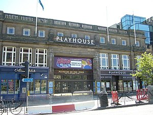 Edinburgh Playhouse - Edinburgh Playhouse in 2009