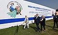 The Prime Minister, Shri Narendra Modi and the Prime Minister of Israel, Mr. Benjamin Netanyahu shares light moments, at Ahmedabad, Gujarat on January 17, 2018 (1).jpg