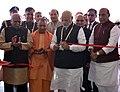 The Prime Minister, Shri Narendra Modi inaugurating the UP Investors Summit 2018, in Lucknow, Uttar Pradesh.jpg