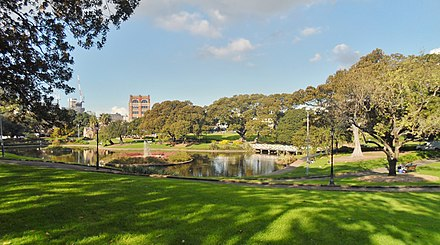 Lake Northam in Victoria Park The University of Sydney Lake Northam 2013.jpg