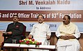 The Vice President, Shri M. Venkaiah Naidu at an event to interact and address the Civil Service Officers of 93rd Foundation Course, at the Dr. Marri Channa Reddy Human Resource Development Institute, in Hyderabad.JPG