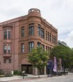 The c. 1890 Riverside Building, designed by Robert Roeschlaub, is part of the Union Avenue Historic District in Pueblo, Colorado LCCN2015632348.tif