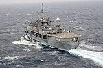 The command ship USS Blue Ridge (LCC 19) transits the South China Sea March 11, 2014 140311-N-GR655-392.jpg