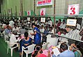 The counting of votes in progress, at a Counting Centre of General Election-2014, at Yousufguda stadium, in Hyderabad on May 16, 2014 (1).jpg