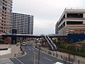 The footbridge which connects SunMarks Dainichi and ÆON MALL Dainichi.JPG