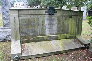 John James Burnet - The Marwick grave, including the grave of J. J. Burnet at Warriston Cemetery