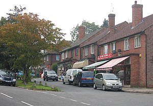 Effingham, Surrey - Image: The shops on The Street, Effingham geograph.org.uk 56610